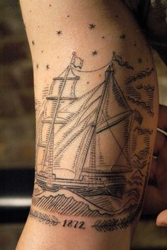 ghostship-lores by eastrivertattoo