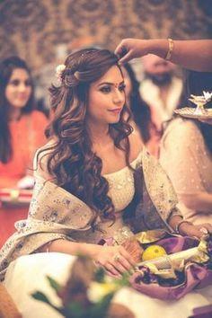 """Time Machine """"Portfolio"""" Bridal Hairstyle for Long Hair Bridal Wedding Hairstyle, Mehendi Hairstyle. Wedding Hair,WeddingNet #weddingnet #indianwedding #weddinghairstyle #mehendihairstyle #hairstyle #bunhairstyle #hairstylist #hair Saree Hairstyles, Open Hairstyles, Hairstyles Haircuts, Indian Hairstyles For Saree, Long Haircuts, Trending Hairstyles, Pretty Hairstyles, Bridal Hairstyle For Reception, Bridal Hairdo"""