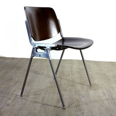 Mid Centurry Aluminum Chair by Giancarlo Piretti for Castelli 1965