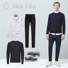 #FashionbySiman  Para esos días casuales puedes utilizar un cashmere de algodón liviano y una camisa de lino. Agrega unos pantalones tipo chinos y zapatos sport. Conseguirás un look muy sofisticado.