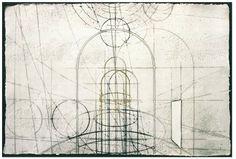 """Walter valentini """"La città ideale"""" Acquaforte cm. 77x113 – Tir. 75 esemlari"""