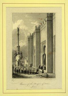 Esterior of the Mosque of Cordova (1826)