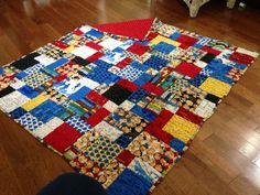 My Nancy Drew quilt
