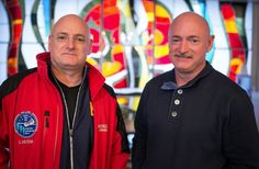 Astronaut Twins Scott and Mark Kelly Honored with Elementary School Renaming Mark Kelly, Scott Kelly, How To Get Tall, How To Grow Taller, Corporate Wellness Programs, Nasa Astronauts, Space Station, Space Shuttle, Olympians