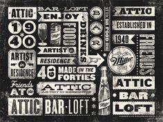 Attic Bar Loft / ID by Masif