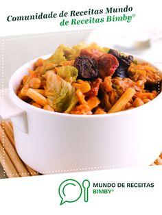 Rancho de Equipa Bimby. Receita Bimby<sup>®</sup> na categoria Pratos principais Carne do www.mundodereceitasbimby.com.pt, A Comunidade de Receitas Bimby<sup>®</sup>. Pot Roast, Sweet Potato, Cabbage, Food And Drink, Potatoes, Diet, Chicken, Vegetables, Ethnic Recipes