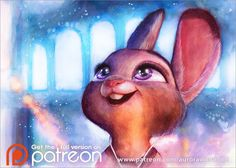 Happy Easter 2017 (Judy Hopps from Zootopia)  I wish a happy Easter and a joyful weekend to everyone you know! Hope you all find a lot sweet and tasty stuff!!  ♥   ★★ http://www.patreon.com/aurorawienhold ★★  Traditional painting - watercolors, with colored pencils and ink.   ★ My Shops ★ >> http://www.ebay.com/usr/aurorawienhold << (Physical items, handsigned) >> https://www.etsy.com/shop/AuroraWienhold << (Digital downloads) >> https://society6.com/aurorawienhold << (Lovely products) ✨