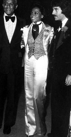 Diana Ross in Bob Mackie