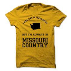Washington For Missouri Country #sport #tshirt