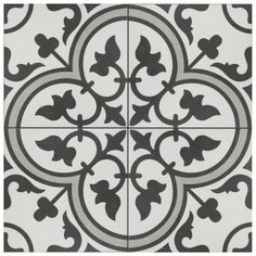 Artea White And Black Decor Porcelain Wall & Floor Tiles 20 X 20 cm / Sqm Wall And Floor Tiles, Wall Tiles, Arte Black, Bathroom Flooring, Vinyl Flooring, Plank Flooring, Kitchen Flooring, Wall Patterns, Stone Tiles