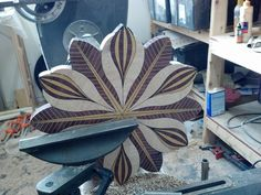 An excellent woodworking plan is kind of like having an excellent plan prior to. Wood Turning Lathe, Wood Turning Projects, Diy Wood Projects, Wood Crafts, Segmented Turning, Carpentry Projects, Lathe Projects, Diy Table Legs, Wood Projects For Beginners