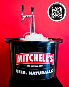 Mitchell's Kegs available from Cape Town Keg Rentals