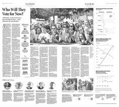 Who Will They Vote for Now?|Epoch Times #DonaldTrump #HillaryClinton #newspaper #editorialdesign