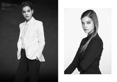 barbara black white shoot2 Barbara Palvin is a Beauty in Black & White for Krisztián Éder Shoot
