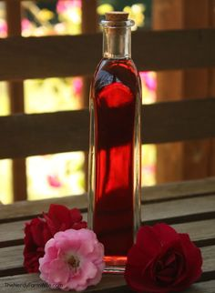Rose Petal Infused Witch Hazel