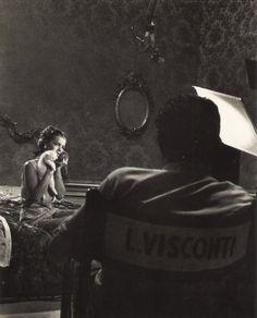 """Romy Schneider e Luchino Visconti III Atto: Il lavoro episodio dal film """"Boccaccio '70″ (1962)"""