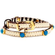 Henri Bendel Buckle Up Bolt Double Wrap Bracelet