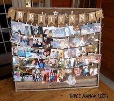 PHOTO DISPLAY - Senior Table/Graduation