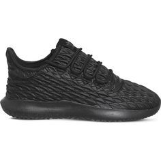 Adidas Tubular Shadow textured trainers (£70) ❤ liked on Polyvore featuring shoes, sneakers, leather footwear, adidas shoes, leather sneakers, adidas footwear and genuine leather shoes