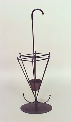 American Mission hatrack/umbrella stand umbrella stand wrought iron