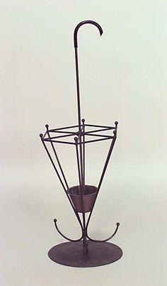 American Mission hatrack/umbrella stand umbrella stand wrought iron