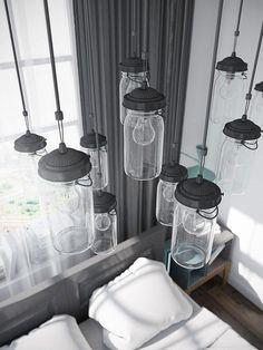 El piso de las mil bombillas colgantes | Decorar tu casa es facilisimo.com