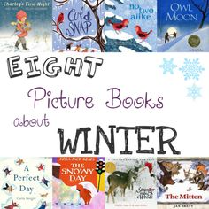 Eight Picture Books about Winter