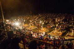 The Ganga Aarti, Varanasi, India #india #Ganga #travel #Kamalan #culture #photo #Ganges #Varanasi #Benaras #Ganga Aarti