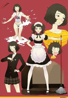 Persona 5, Persona, Games, game art, Sadayo Kawakami