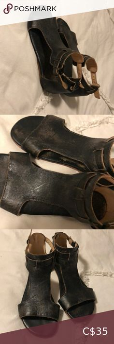 Bed Stu black/brown leather sandals Bed Stu leather sandals, size 8 Bed Stu Shoes Sandals Leather Gladiator Sandals, Brown Leather Sandals, Leather Ankle Boots, Bed Stu Shoes, Ugg Winter Boots, Blue Midi Dress, Women's Shoes Sandals, Black And Brown, Uggs