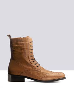 Myth Tan Leather ankle-boots list