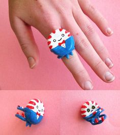 deviantART: More Like Adventure Time and Friends Studs Polymer Clay by ~ThePetiteShop