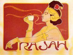 Read more: https://www.luerzersarchive.com/en/magazine/print-detail/5146.html Poster for Rasaw brand coffee. Tags: Henri Meunier (Deceased),