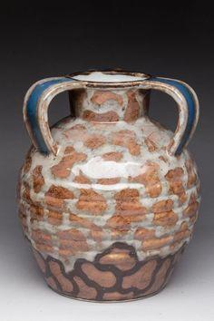 THARAUD Camille (1878-1956). - Cruche à trois anses, porcelaine dure.