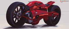 Ducati Draven by MAKS-23.deviantart.com on @deviantART