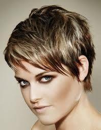 Hair short blonde highlights low lights 16 Ideas for 2019 Chic Short Hair, Short Hair Cuts, Short Hair Styles, Pixie Cuts, Pixie Hairstyles, Trendy Hairstyles, Pixie Haircuts, Medium Hairstyles, Corte Y Color