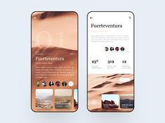 Fuerteventura Travel Guide - Expolore the best and the special ideas about User experience Mobile App Design, Mobile Ui, Interface Iphone, Design Thinking, Ios App, Design Responsive, App Ui Design, Design Design, Site Design