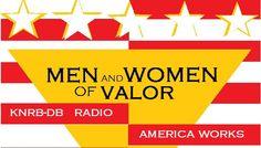 KNRB-DB MENANDWOMENOFVALOR radio icon v1 America Works