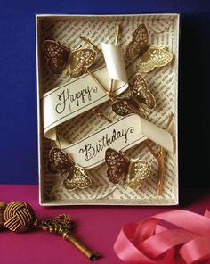 Happy Birthday Card/Box