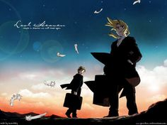 Lost Heaven is the closing theme for Fullmetal Alchemist- Conqueror of Shamballa... I love that song *nostalgia*