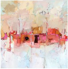 Allison Hall Cooley. Colors are so pretty and love the freeness of the piece!