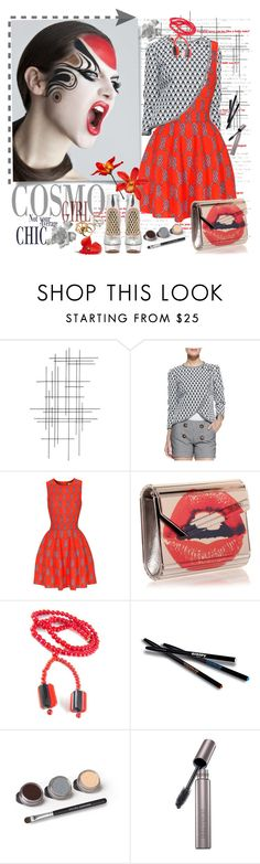 """Без названия #227"" by trendstar-212 ❤ liked on Polyvore featuring Crate and Barrel, Troubadour, Issa, Jimmy Choo, Sisley Paris, Bare Escentuals, Laura Mercier, By Terry, women's clothing and women"
