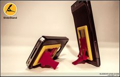 The red on yellow slidestand. Magazine Rack, Bookends, Yellow, Storage, Red, Furniture, Home Decor, Purse Storage, Homemade Home Decor
