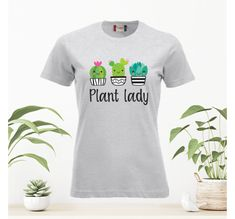 Stick with love Lady, T Shirts For Women, Plants, Mens Tops, Design, Plant, Planets
