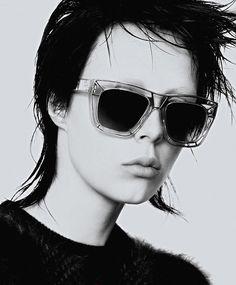 884678e3725 Edie Campbell for Jil Sander eyewear fw 13.14 Fashion Words