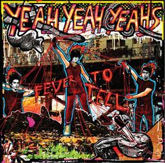 The Yeah Yeah Yeahs debut on Vinyl 'Fever to Tell' introduced the world outside New York to the beer-swilling frontwoman, Karen O, who sounded like shed eaten Pat Benatar for breakfast while rocking out to Siouxsie and the Banshees. Indie, Music Is Life, My Music, Music Flow, Netflix, Karen O, Like I Love You, Pochette Album, Nerd