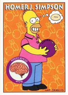 1993 SkyBox the Simpsons #S1 Homer Simpson Front