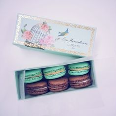 Woooohooooo the brand new Laduree gift box with the latest 2 flavours - The Marie-Antoinette and L'Incroyable Guimauve Chocolat Coco.