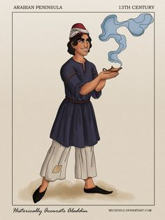 Historically Accurate Aladdin by Wickfield on DeviantArt