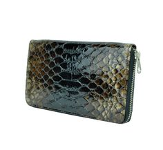 Ladies wallet Snake Modern wallet Women's wallet Leather Wallet Luxury Wallet Women Credit card wallet Elegant wallet Gift for her Valentine Excited to share this item from my shop: Ladies wallet, snake pattern wallet, women's wallet, Leather Wallet Woman Calf Leather, Leather Men, Modern Wallet, Snake Patterns, Wallets For Women Leather, Wallet Pattern, Credit Card Wallet, Natural Leather, Gifts For Her
